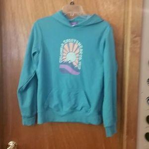 Girl's Columbia hoodie Large